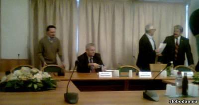 s13802327 Пресс конференция, посвященная созданию Комитета в защиту Шешеля